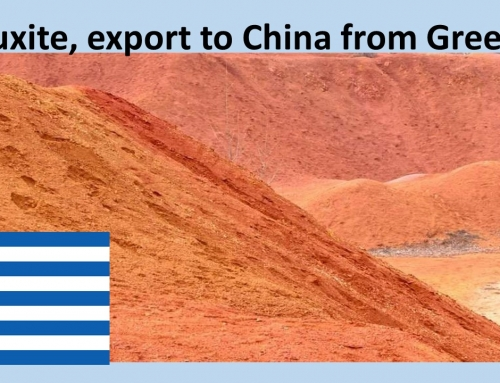 Bauxite of very good quality, export to China